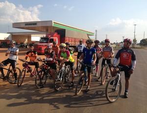 Ciclismo em Guajará-Mirim, RO (Foto: Dayanne Saldanha)