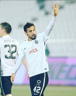 Leonardo vem fazendo gols no Partizan (Foto: Reprodução/Instagram)