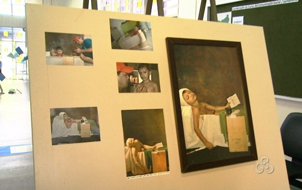 A fotografia foi usada para expressar a lingual visual aprendida no curso (Foto: Roraima TV)