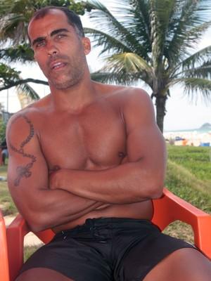 Felipe Vasco Flamengo Praia (Foto: Janir Júnior / GloboEsporte.com)