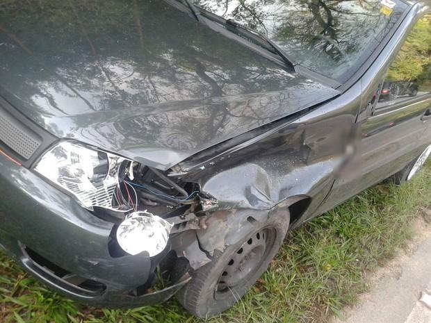 Veículo seguia em direção a Sorocaba e motorista se perdeu em uma curva (Foto: Divulgação/GCM)