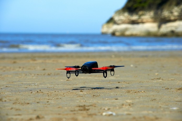 Drone que se conecta a smartphone e Oculus Rift (Foto: Divulgação)