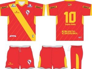 Galícia irá lançar novo uniforme em 2014 (Foto: Divulgação / Galícia Esporte Clube)