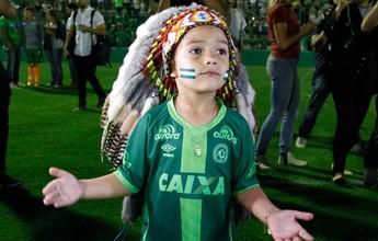 Índio da Chapecoense participará de homenagens do Santos na Vila