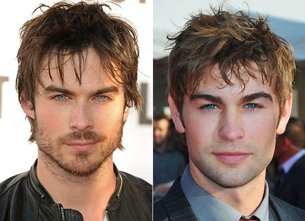 Os atores Ian Somerhalder e Chace Crawford (Foto: Getty Images)