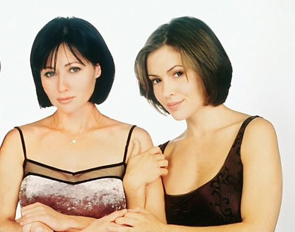 Shannen Doherty e Alyssa Milano (Foto: Divulgação)