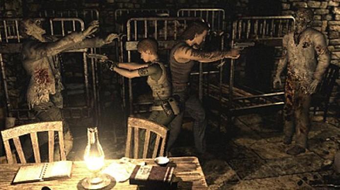 Rebecca Chambers e Billy Coen estão de volta em remasterização de Resident Evil 0 (Foto: Reprodução/GameOnDaily)