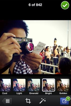Facebook Camera, novo aplicativo da rede social (Foto: Reprodução)