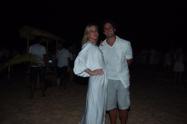 Alexandre Pato e Fiorella Matheis (Foto: Marcello Sá Barretto/ AgNews)