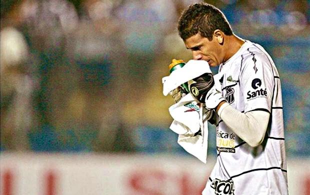 Adilson, goleiro do Ceará (Foto: Kiko Silva/Agência Diário)