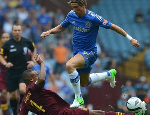 fernando torres chelsea x manchester city (Foto: Getty Images)