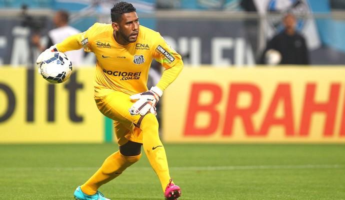 Aranha, Grêmio X Santos - Arena Grêmio (Foto: Getty Images)