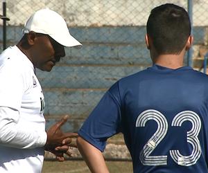 Marcos Mendonça, técnico do Lemense (Foto: Marlon Tavoni/EPTV)