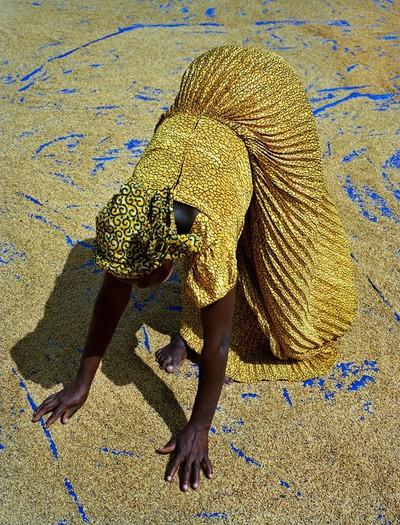 arrozeiro-sanwougou-lalle-togo-arroz-foto-premio (Foto: Kenneth O'Halloran)
