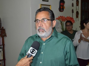 Gilvam Borges defende aliança sem distinção de partidos (Foto: John Pacheco/G1)