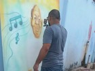 No AP, alunos promovem sarau em homenagem ao mestre Oscar Santos