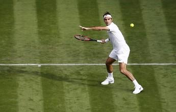 Heptacampeão, Roger Federer vence argentino em dura batalha na estreia