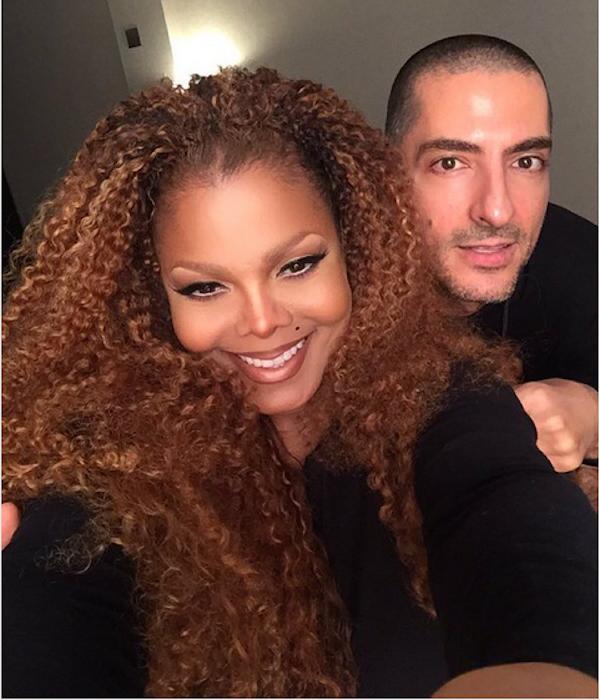 A cantora Janet Jackson e o pai de sua filha, o empresário Wissam Al Mana (Foto: Instagram)