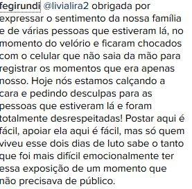 Print comentário Ana Paula Valadão (Foto: reprodução/instagram)