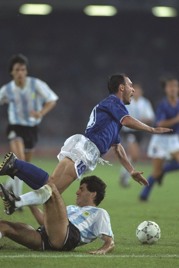 Itália x Argentina 1990 (Foto: Getty Images)