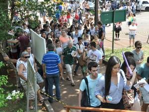 Vestibular da 2015 da UEL teve mais de 21 mil candidatos inscritos (Foto: Divulgação/UEL)
