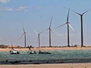 Praia do Marco, em Touros (Foto: Canindé Soares)