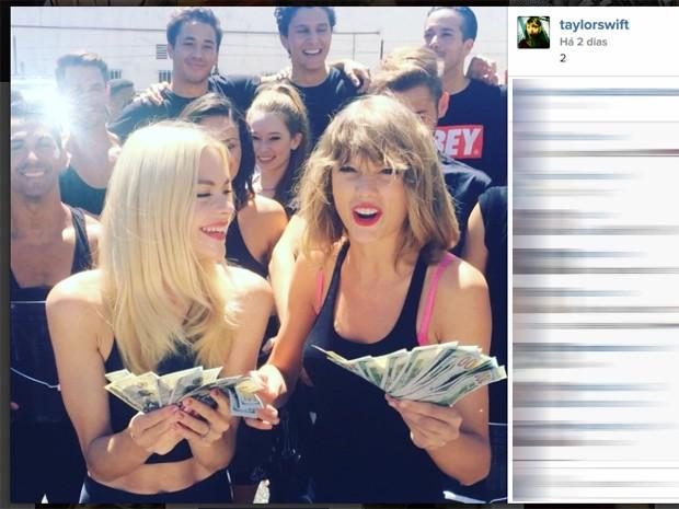 Taylor Swift participa do desafio do balde de gelo (Foto: Reprodução/Instagram)