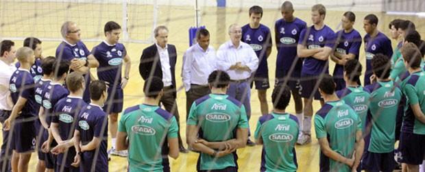 Cruzeiro Vôlei (Foto: Divulgação / Site Oficial da Equipe de Vôlei do Cruzeiro)
