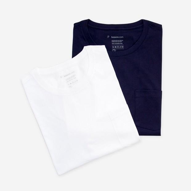 Camisetas basico.com (R$ 168 o par) (Foto: Divulgação)
