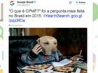 'O que é CPMF?' foi a pergunta mais feita no Google em 2015 no Brasil