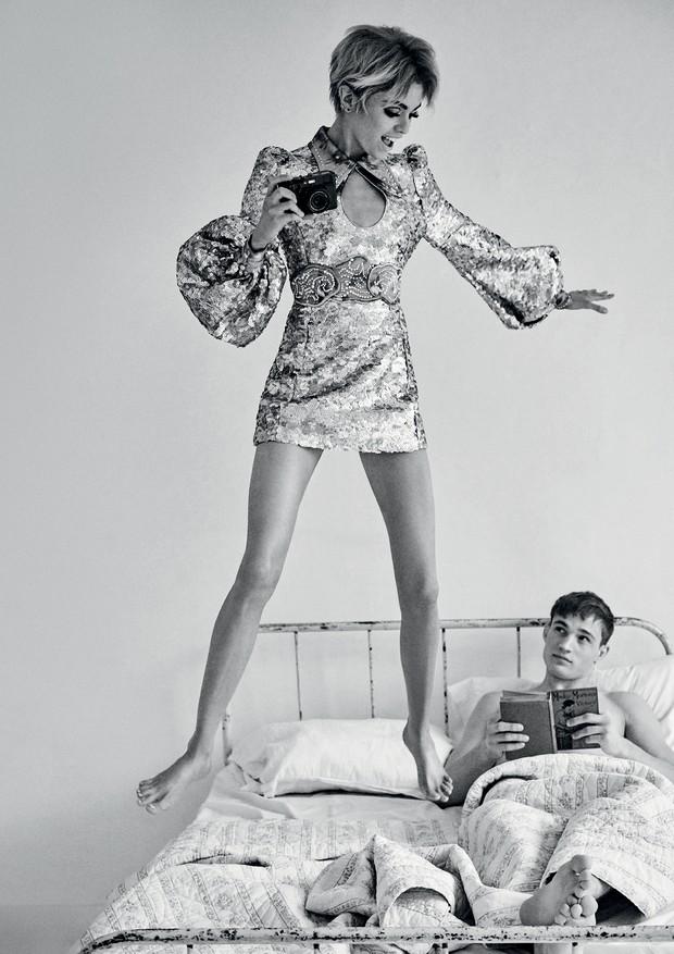 Vestido, Marc Jacobs.  (Foto: Giampaolo Sgura)