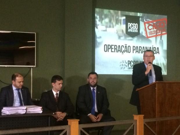 Polícia concluiu inquérito do atentado em Itumbiara, em Goiás (Foto: Vitor Santana/G1)