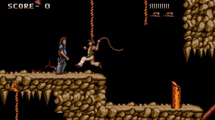 Mesmo com dificuldade alta, Indiana Jones and the Last Crusade captava o espírito aventureiro de Indy (Foto: Reprodução/GameFabrique)