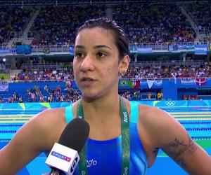 Joanna Maranhão (Foto: Reprodução/SporTV)