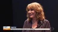 Renata Sorrah e Companhia Brasileira de Teatro apresentam o espetáculo 'Preto' em BH