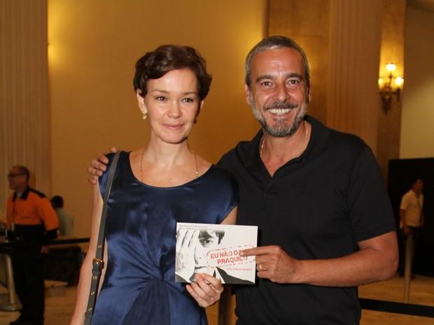 Julia Lemmertz e Alexandre Borges (Foto: Anderson Borde / AgNews)