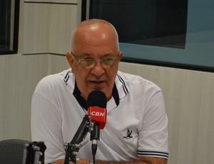 Guilhermes Novinho, presidente do Botafogo-PB (Foto: Rammom Monte / GloboEsporte.com/pb)