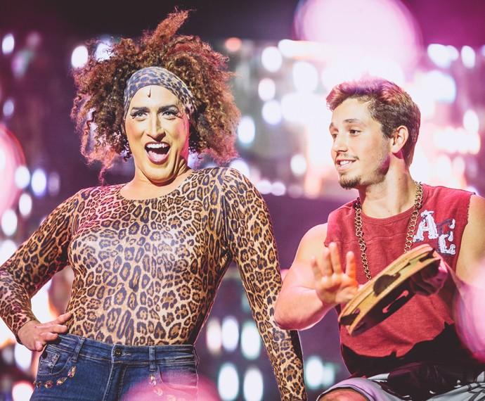 No teatro, Christian Monassa descobriu o talento para a comédia (Foto: Raul Aragão / Divulgação)