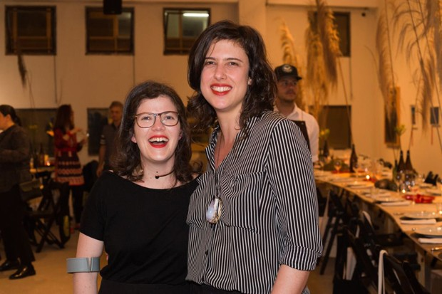 Fernanda Brenner e Paloma Bosque (Foto: Janssem Cardoso)
