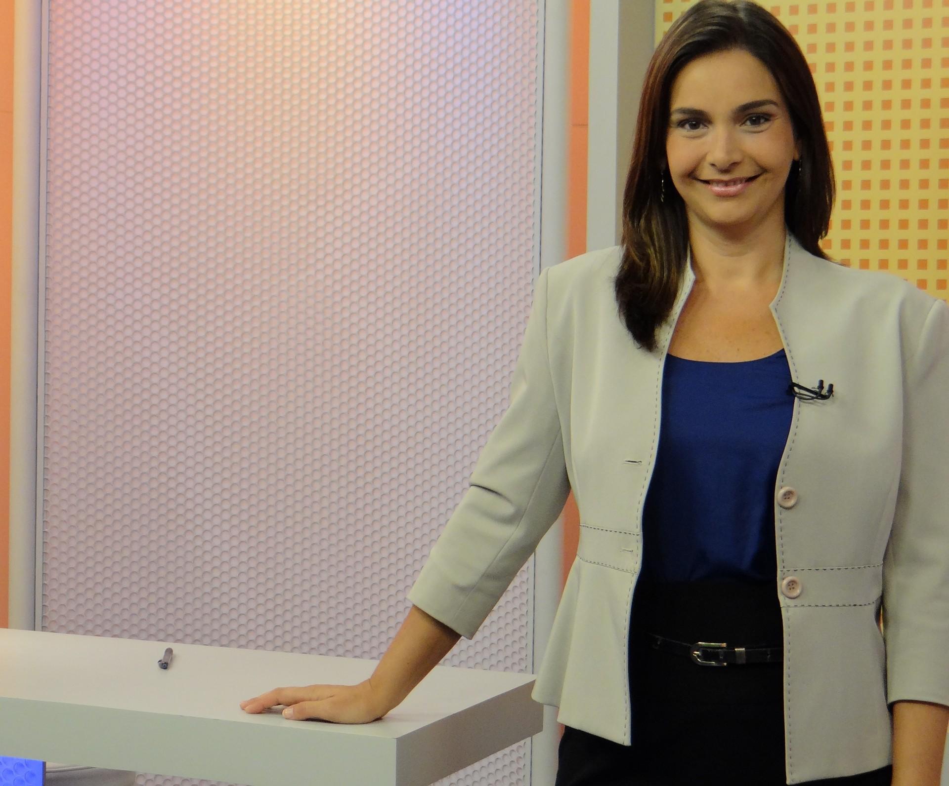 Apresentadora Vanessa Machado (Foto: Eder Pinheiro)