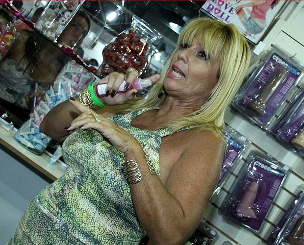 Cida (Foto: Graça Paes/Foto Rio News)