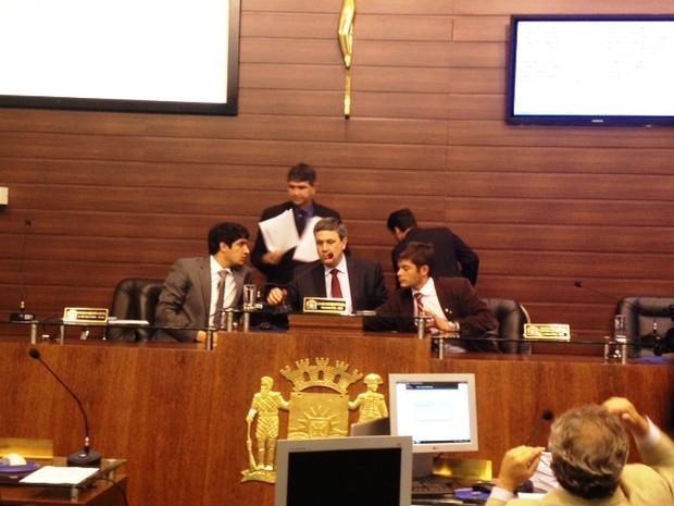 Primeira sessão para votação do Plano Diretor (Foto: Cristiano Anunciação/G1)