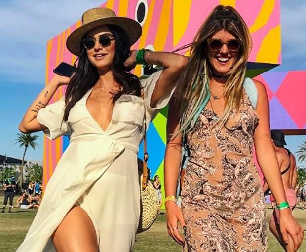 Thaila Ayala e amiga (Foto: Reprodução/Instagram)