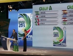 Sorteio da Copa das Confederações (Foto: Reuters)