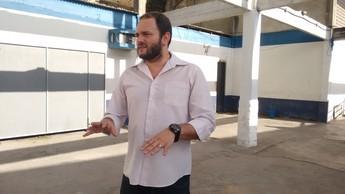 Rodrigo Monteiro assessor Remo (Foto: Samara Miranda/GloboEsporte.com)