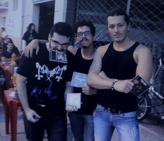 Alan é fã de heavy metal  (Foto: João Mello/Gshow)