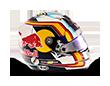 Capacete Formula 1 2016 - Carlos Sainz
