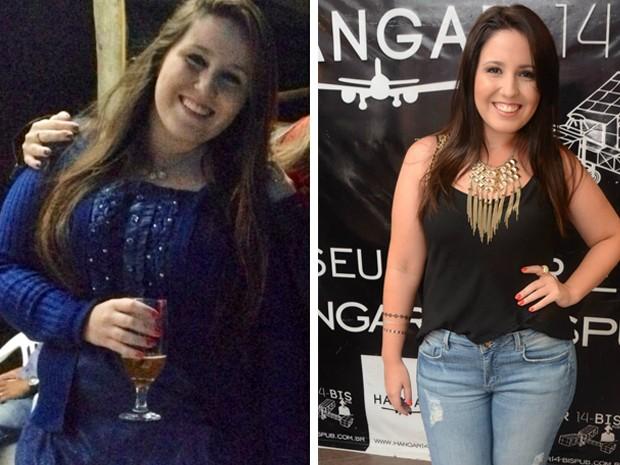 'As pessoas me diziam que eu estava gorda, mas eu me olhava e não me via gorda', afirma a jovem (Foto: Arquivo pessoal/Bruna Correa)
