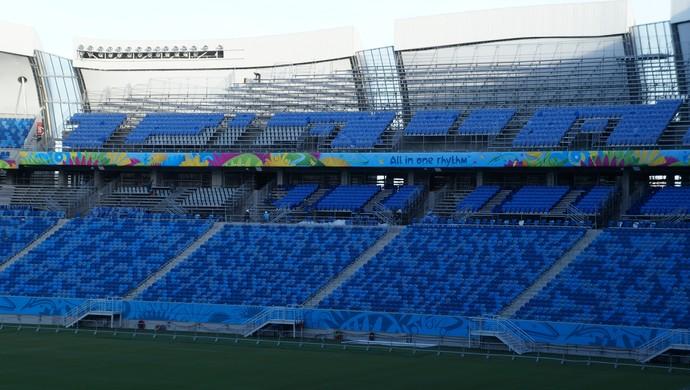 Arena das Dunas  (Foto: Augusto Gomes/GloboEsporte.com)
