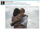'Mais quatro anos', de Obama, é o tuíte mais popular de 2012